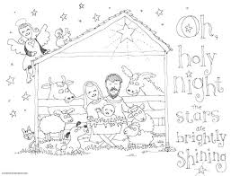 Our nativity colouring pages cover a wide range of ages so that you can print out just the right colouring page for your children! The Cutest Christmas Coloring Pages Skip To My Lou