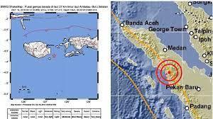 Hasil analisis bmkg menunjukkan informasi awal gempabumi ini berkekuatan m=5,3 yang selanjutnya dilakukan pemutakhiran menjadi mw=5,1. Berita Gempa Hari Ini Gempa Guncang Ambon Dan Pulau Seram Pagi Ini Tidak Berpotensi Tsunami Pos Kupang