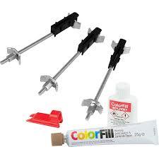 Colorfill Worktop Installation And Repair Kit Oak