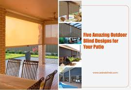 outdoor patio blinds ideas 5 amazing