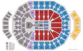 Yum Concert Seating Chart Kfc Yum Center University Of Louisville Louisville