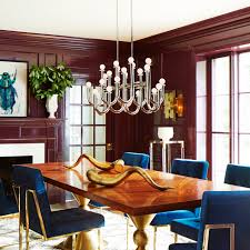 Milano Rectangular Chandelier Modern Lighting Jonathan Adler - Modern modern modern dining room lighting