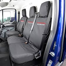 heavy duty waterproof black van seat