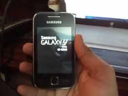 samsung y. repair a bricked galaxy y (s5360) || install original samsung android on