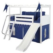 kids loft bed with slide. Beautiful Loft Intended Kids Loft Bed With Slide T