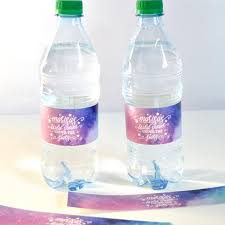 waterbottle labels water bottle labels galaxy bridal shower wedding personalized