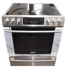 electrolux stove. electrolux iq-touch series ei30ef45qs 30\u2033 freestanding electric range stove e
