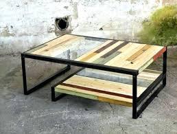 metal glass coffee table tanner metal glass coffee table matte iron bronze finish