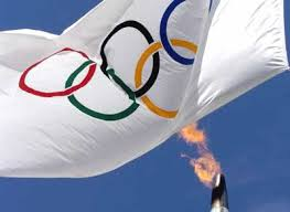 История Олимпийских игр Олимпийский флаг