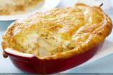 cheese  onion  leek   potato pie