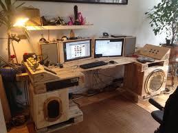 pallet furniture desk. Steampunk Desk Made Of Pallets, Part 2 Pallet Furniture Pallet Furniture Desk