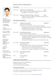 best cv template print best resume templates word download free curriculum vitae