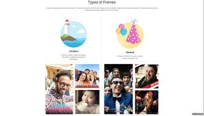 facebook says the frames can range from promoting a charity to supporting a football team