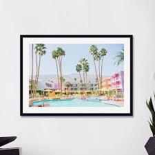 palm springs framed art prints