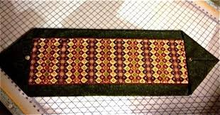 10 Minute Table Runner Pattern Awesome Ten Minute Table Runner Pattern And Pics