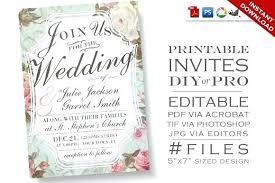 Free Download Wedding Invitation Templates Lovely Editable Wedding Invitation Templates Free Download Or