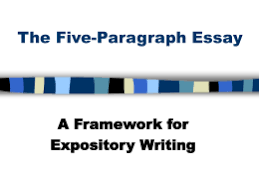 paragraph essay model the five paragraph essay