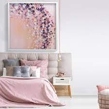pink wall art prints bedroom wall decor