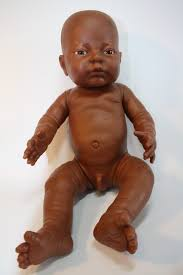 Vintage black boy baby doll