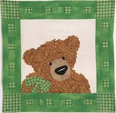 Best 25+ Teddy bear quilt pattern ideas on Pinterest | Teddy bear ... & Thaddeus, a teddy bear quilt pattern by Julia Deimert. Adamdwight.com