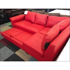 trend red leather sofa bed 72 home kitchen cabinets ideas with red leather sofa bed