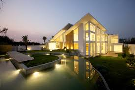 roof lighting design. Exterior Lighting Design Decor Amusing Stunning House With Sloping Roof Feat Led Outdoor Light I