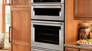 kitchenaid 30 inch combination wall oven with even heat true convection
