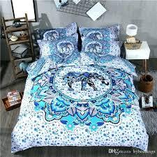 bohemian comforters bohemian bedding sets bohemian bedding set elephant blue duvet cover set single queen king 2 3 bohemian comforters and duvets