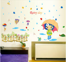 Little Girls Bedroom Wallpaper Compare Prices On Girls Wallpaper With Umbrella Online Shopping