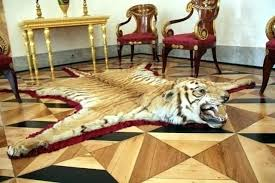 tiger skin rug ideas or book faux with head lovely antique for yellow black tigers midnight tiger floor rug