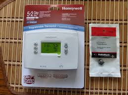 day programmable honeywell thermostat upgrade