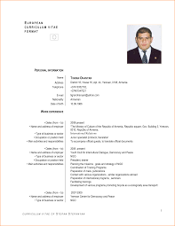 Doc 500711 Curriculum Vitae Example Free Cv Examples 3 Cv English
