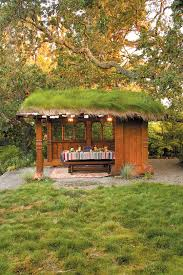 Stylish Sheds Pacific Horticulture Society Up On The Roof