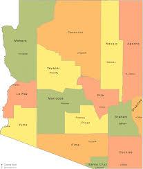 arizona county map Map Northeastern Arizona arizona county map with county seat cities map northeast arizona