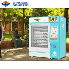 Medical Vending Machine Cool China Campus 48 Hours SelfService Combined Health Wellness Medical