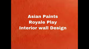 Seashell Design Asian Paints Royale Play Seashell Design Youtube