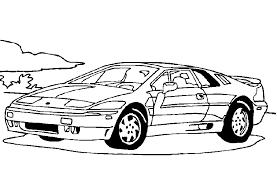 Kleurplaten Van Auto S