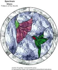 hummingbird stained glass patterns free just a sip by the avenue p