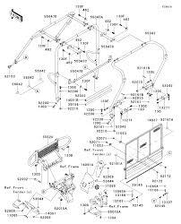Cabi parts diagram lovely 2013 kawasaki mule 4010 trans4x4 diesel kaf950gdf guards cab frame