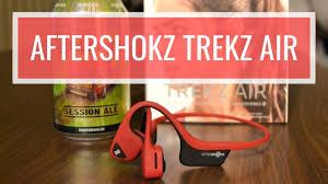 <b>AfterShokz Trekz Air</b> Review - I RUN ON BEER - YouTube
