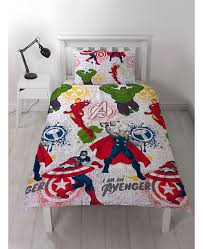 marvel avengers mission single duvet cover set thor hulk
