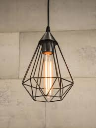 cage pendant lighting. Black Wire Cage Pendant Light Lighting E