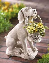 132 best garden statues images on angel statues with ceramic dog statues outdoor decor