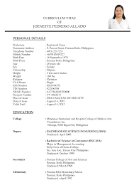 Classy Sample Resume Doctor Philippines For Your Sample Resume For