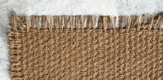 a natural fibre rug