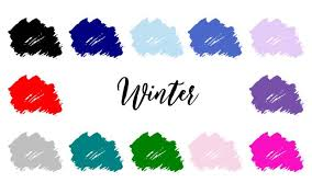 Winter Colour Palette 4 Season Color Analysis Infinite