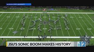 Mississippi veterans memorial stadium jackson, ms. Jsu S Sonic Boom Makes History Wjtv