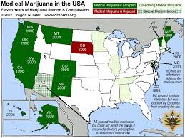 marijuana approved states