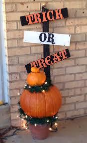 outdoor pumpkin decorations lighted