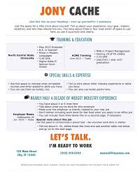 100 Free Creative Resume Newspaper Style Microsoft Resume